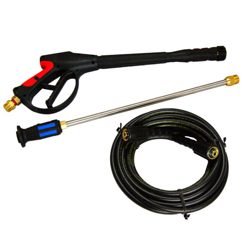 Pressure washer gun, hose & wand kits for all brands of power washers.